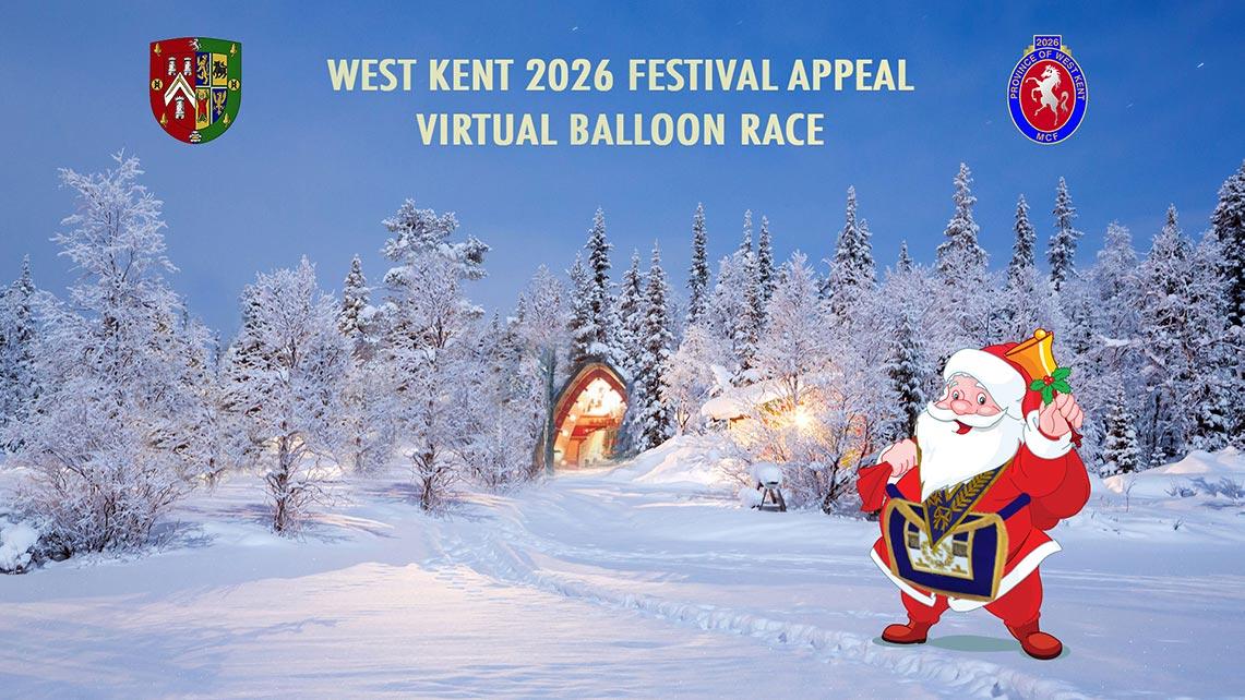 West Kent 2026 Festival Appeal Virtual Balloon Race