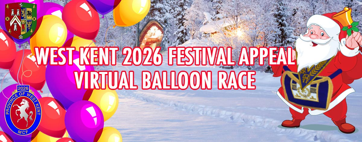 West Kent 2026 Festival Appeal Virtual Balloon Race